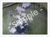 機密ボックス溶解証明画像
