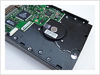 ハードディスク物理破壊